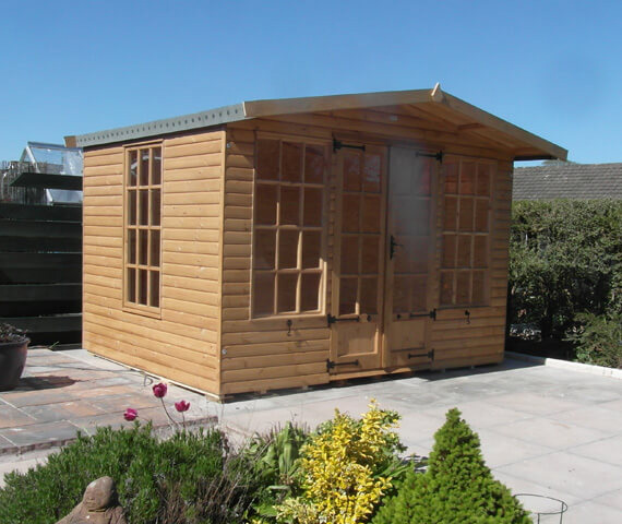 10x8 wooden summer house