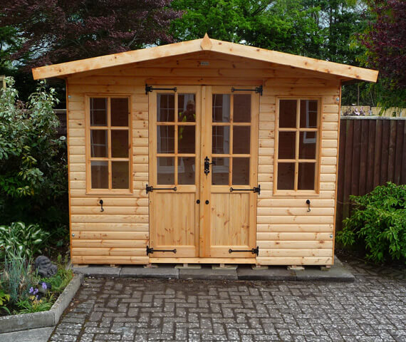7x5 wooden summer house