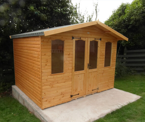 8x6 wooden summer house