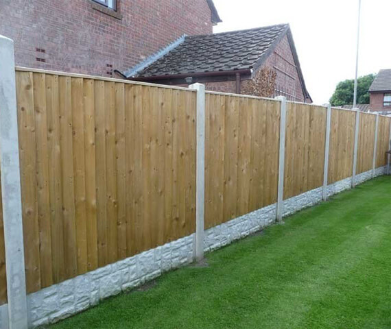 Harker Feather Edge 6x2 Wooden Fencing Panel
