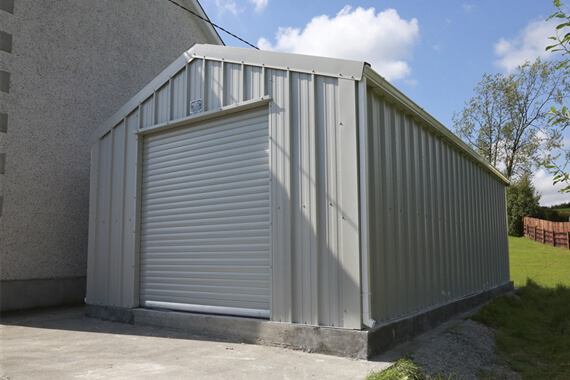 insulated metal garages