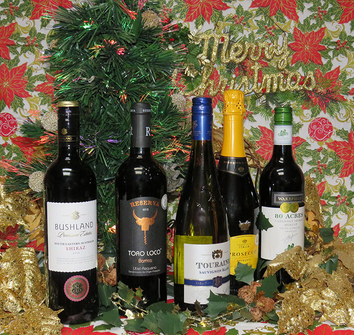 christmas wine offer